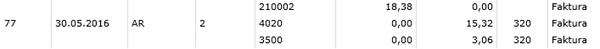 Automatisch erstellter offener Posten in der doppelten Buchhaltung in ProSaldo.net