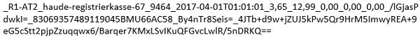 Code von Kassenbon - Kassa2go - Registrierkassenpflicht