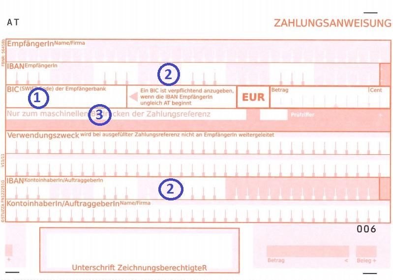 Zahlungsanweisung